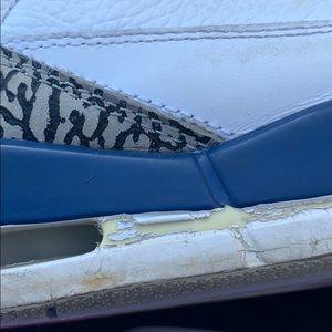 Nike Shoes - Nike Air Jordan. Retro III. True Blue